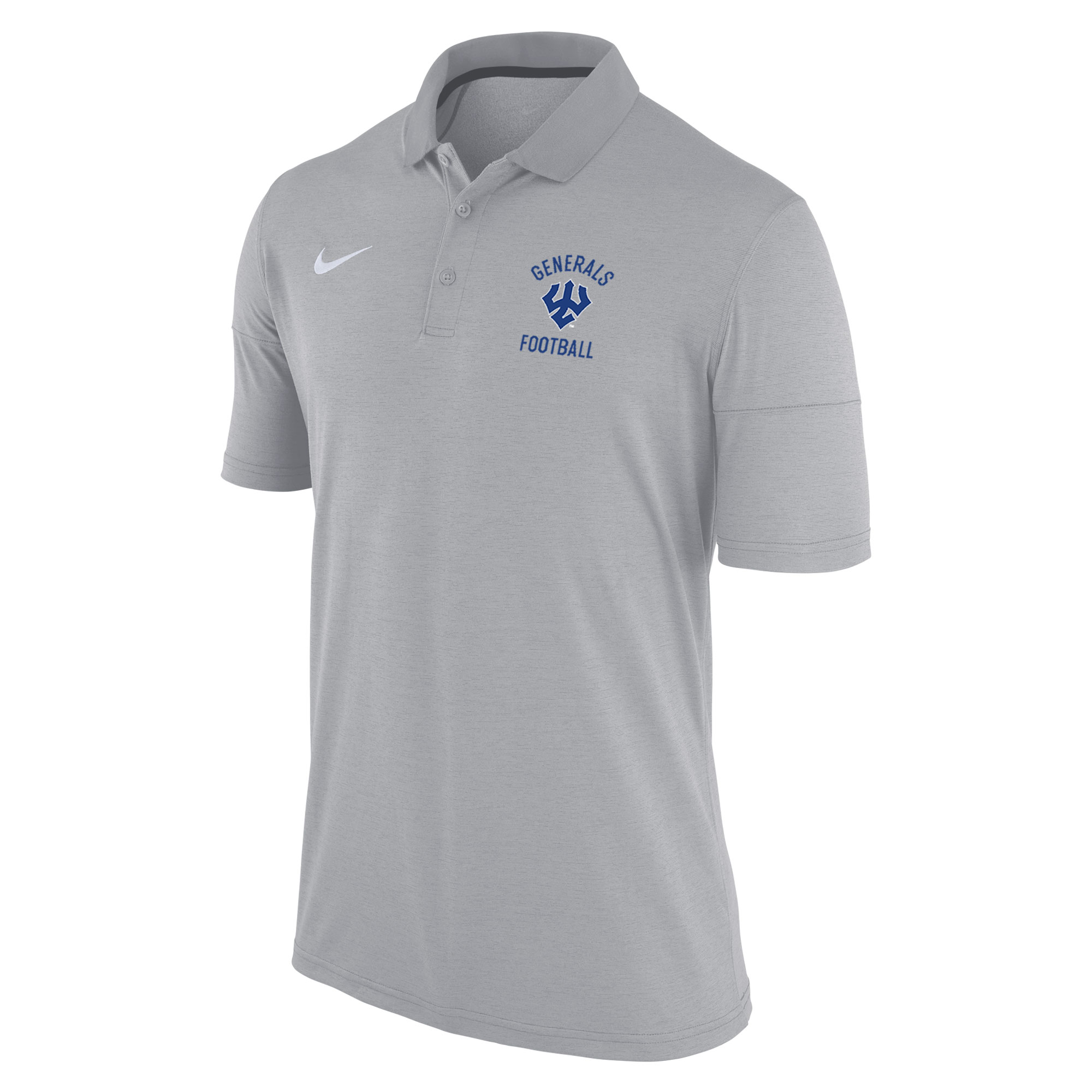 Nike Football DriFit Polo, Grey