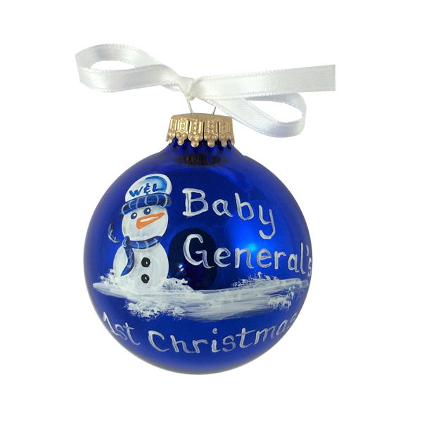 Hand Painted Baby General Ornament