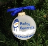 Hand Painted Baby General Ornament thumbnail