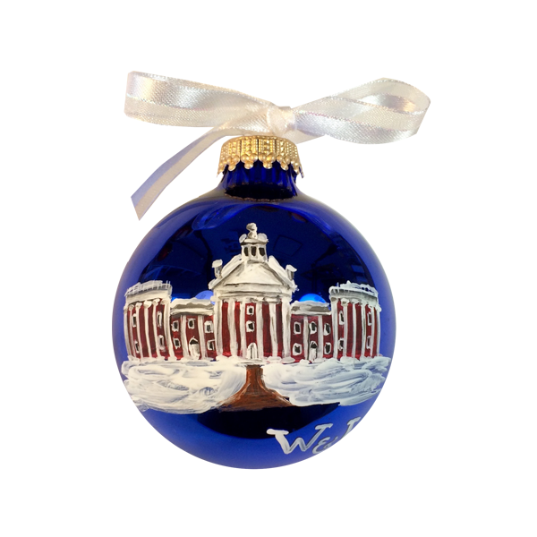 Hand Painted Colonnade Ornament
