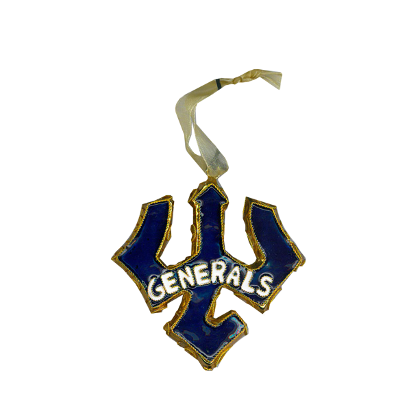Kitty Keller Generals Trident Ornament
