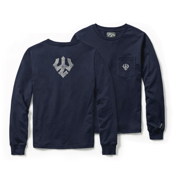 Trident Long Sleeve Pocket Tee