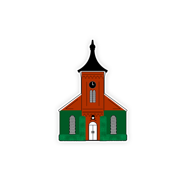 Dizzler Lee Chapel Decal, Small