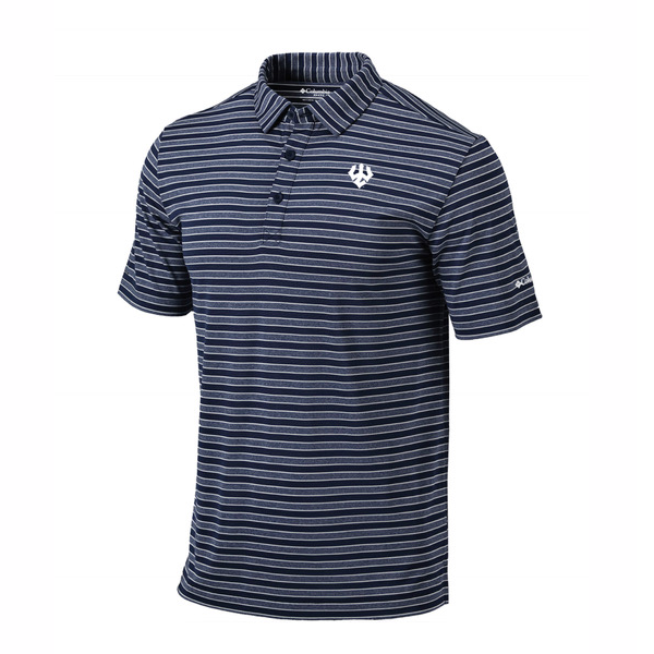 Columbia Omni-Wick Stripe Polo