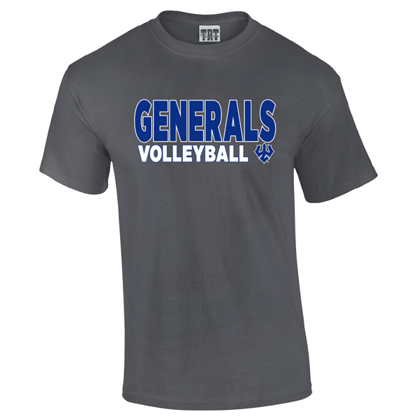 Generals Volleyball Tee