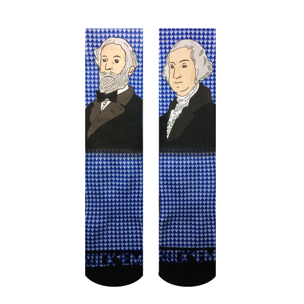 George and Bob Sublimated Socks