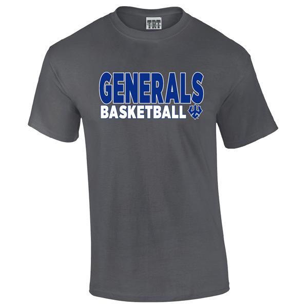 Generals Basketball Tee