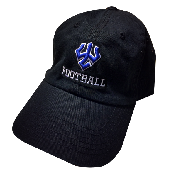 Football Hat, Black