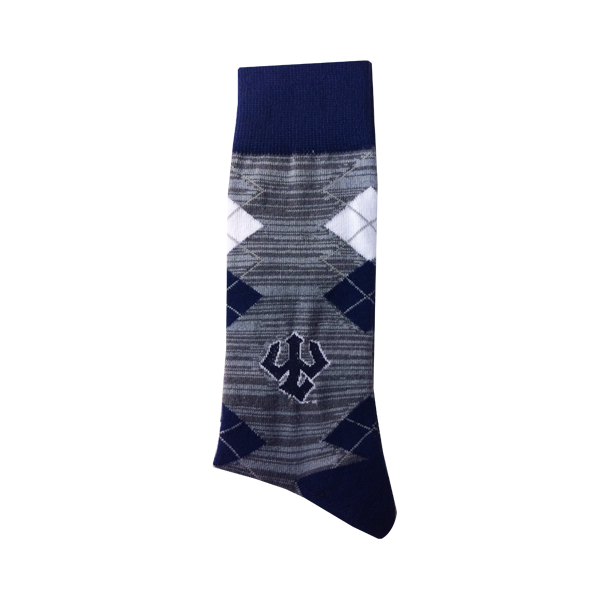 Argyle Trident Sock