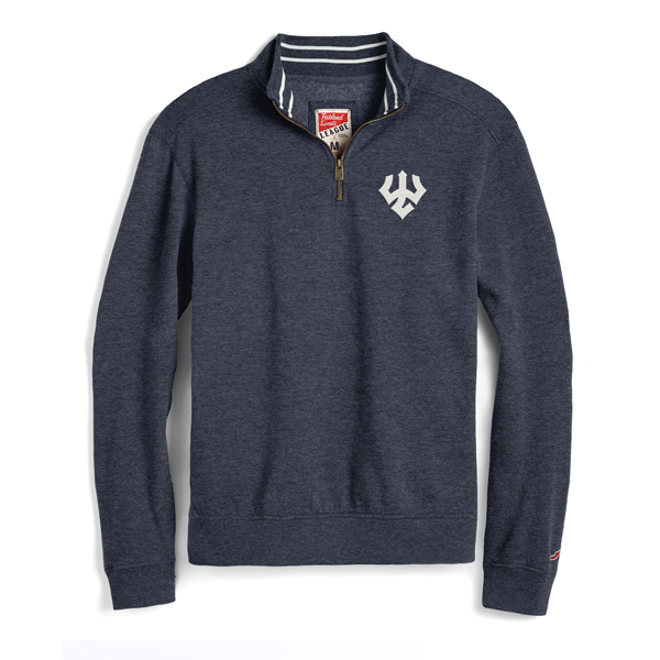 League Collegiate Heather 1/4 Zip