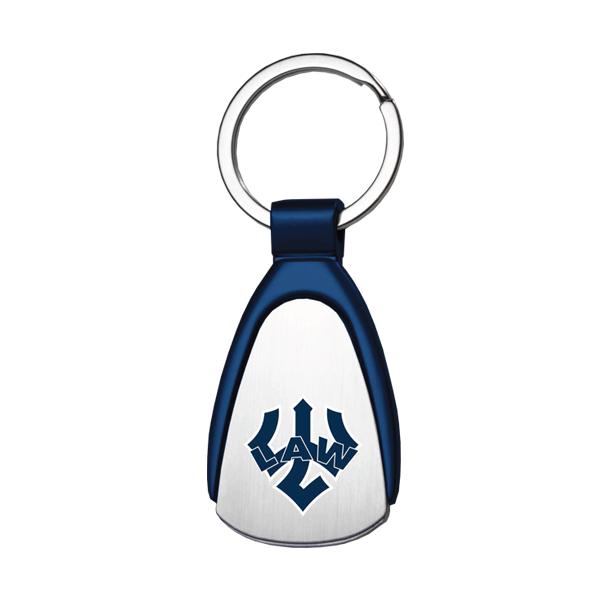 Law Tear Drop Keychain