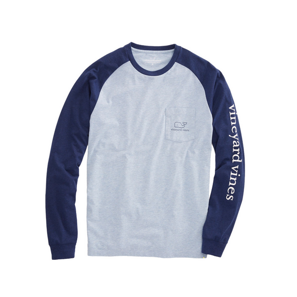 Vineyard Vines Long-Sleeve Pocket Raglan