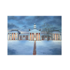 """Winter Glow on the Colonnade"" Tile Print thumbnail"