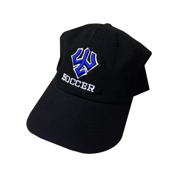 Soccer Hat, Black