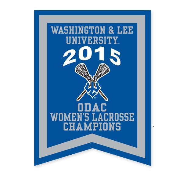2015 ODAC Women's Lacrosse Banner