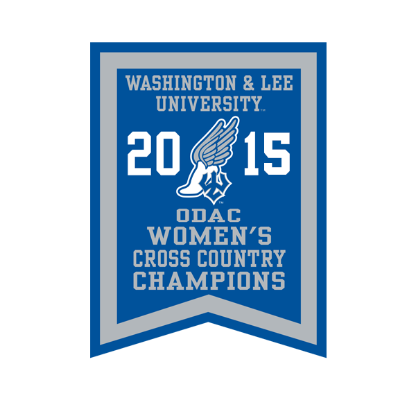 2015 ODAC Women's Cross Country Banner