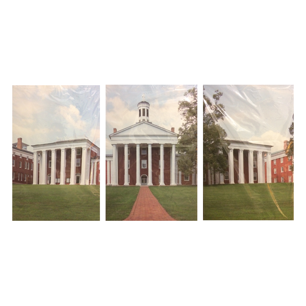 Colonnade Canvas Triptych