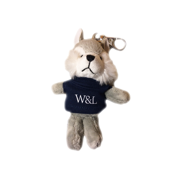 Plush Wolf Keychain
