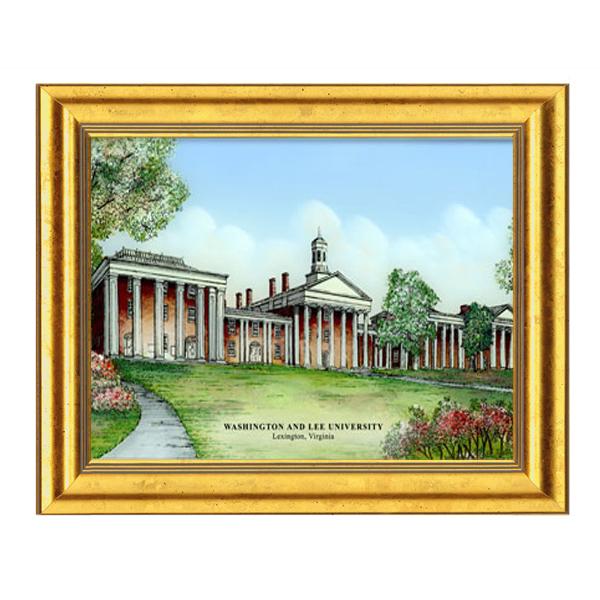 Eglomise Colonnade Illustration, Medium