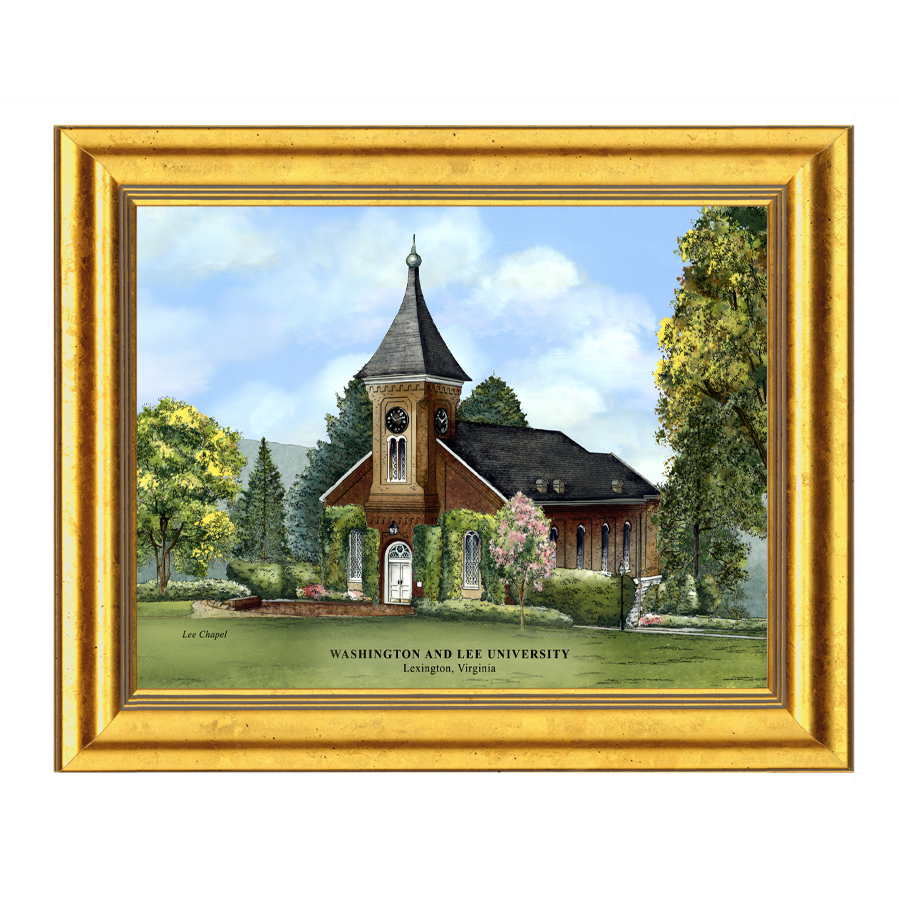Eglomise Lee Chapel Illustration, Medium