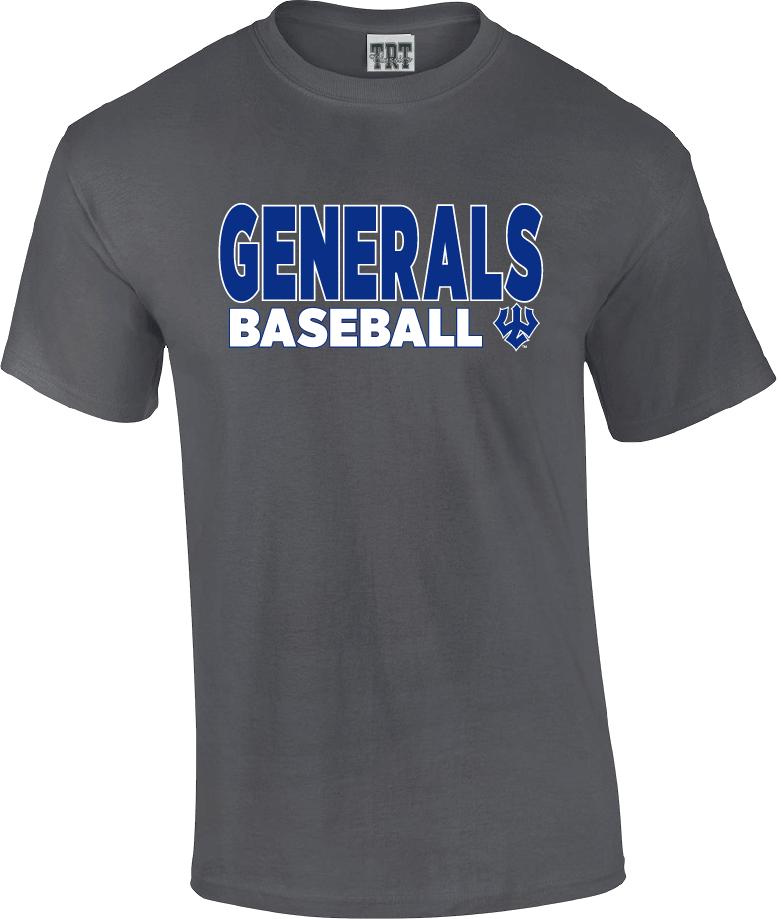 Generals Baseball Tee