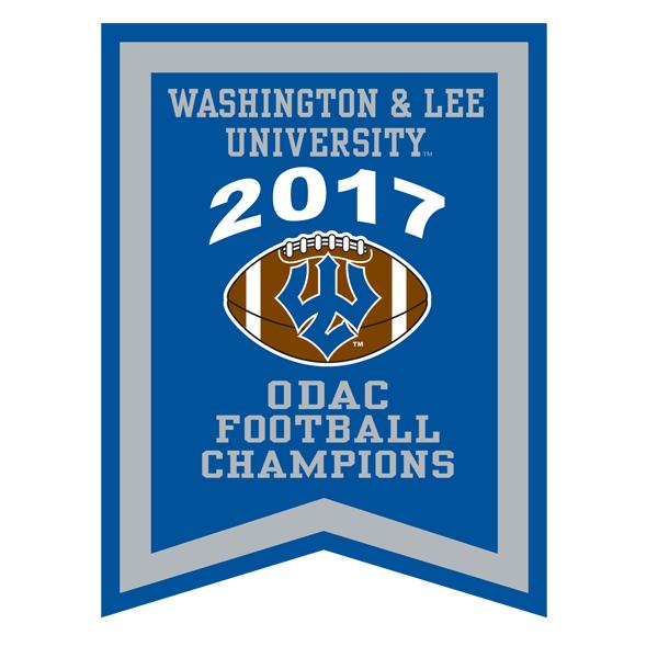 2017 ODAC Football Banner
