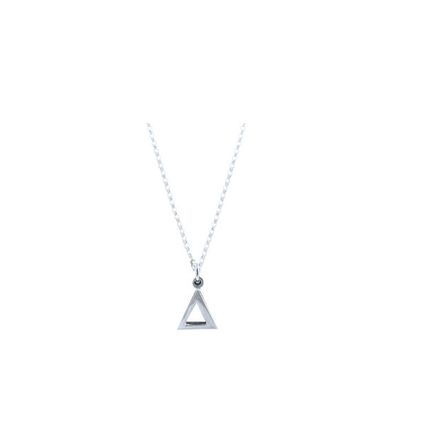 Delta Silver Necklace