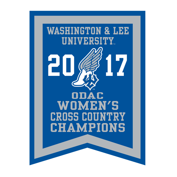 2017 ODAC Women's Cross Country Banner