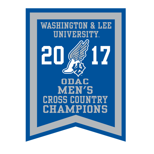 2017 ODAC Men's Cross Country Banner