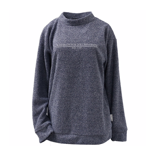 Woolly Threads Crew Sweater, Navy