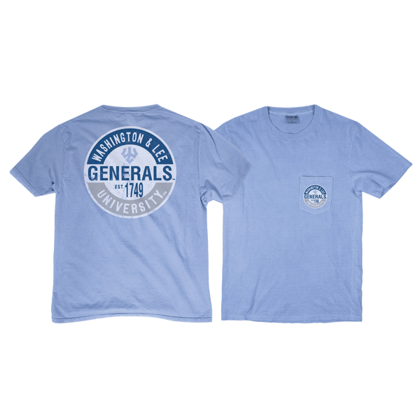 Blue 84 Ringspun Short Sleeve Pocket Tee