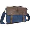 Canyon Leather Canvas Messenger Bag thumbnail