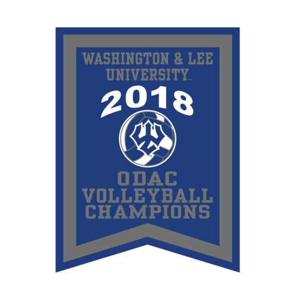 2018 ODAC Volleyball Banner
