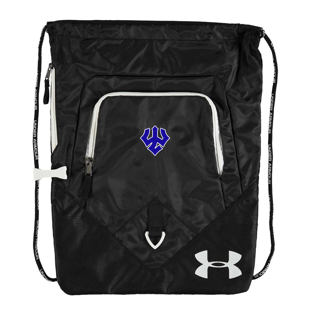 Under Armour Undeniable Sackpack, Royal or Black
