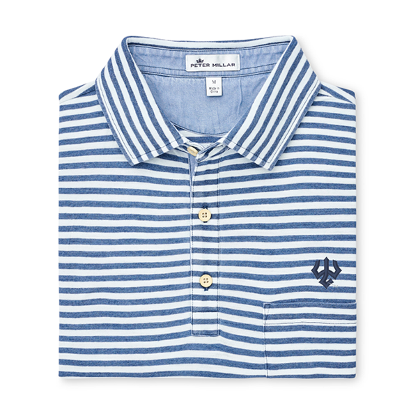 Peter Millar Seaside Stripe Polo