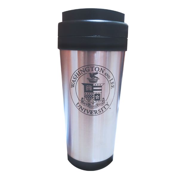 Cover Image For Classic Stainless Crest Travel Mug