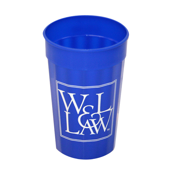 Cover Image For Law Fluted Stadium Cup 22 oz, Royal