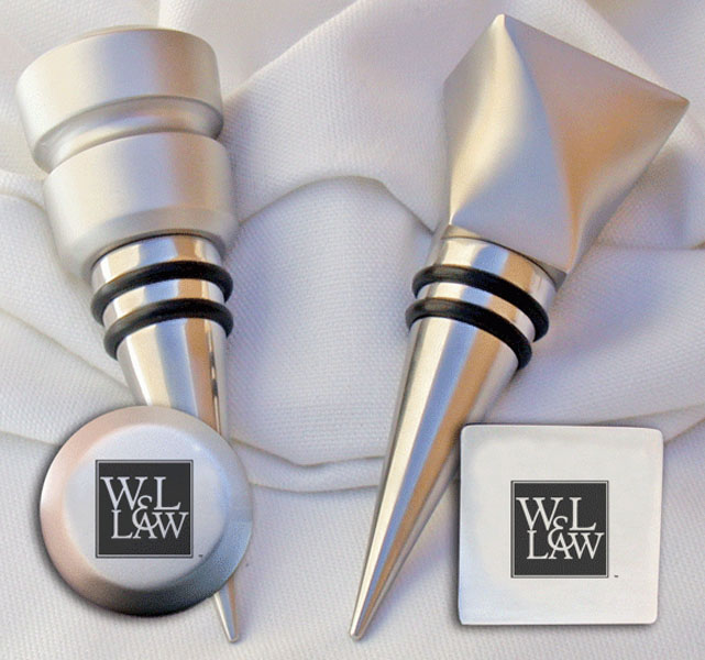 Image For Law Wine Stopper Set