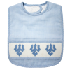 Cover Image for Hand Smocked Trident Bib