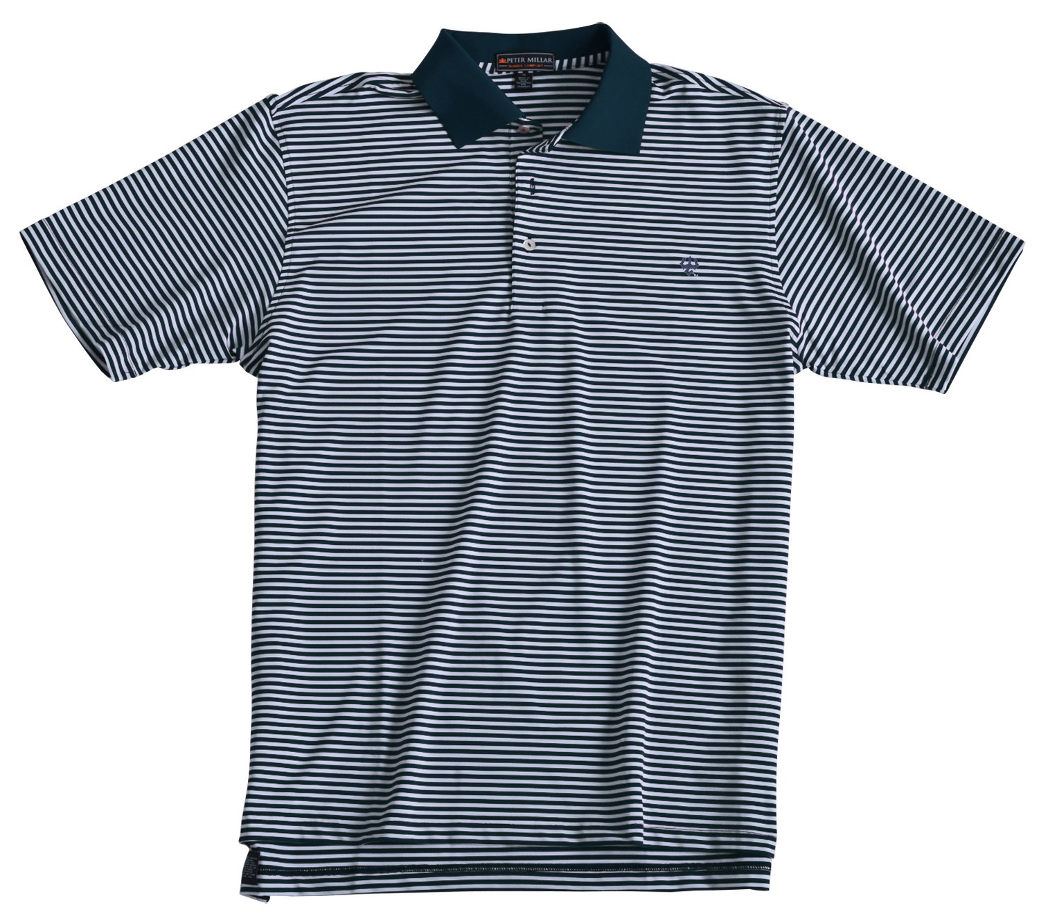 Image For Peter Millar Competition Stripe Polo