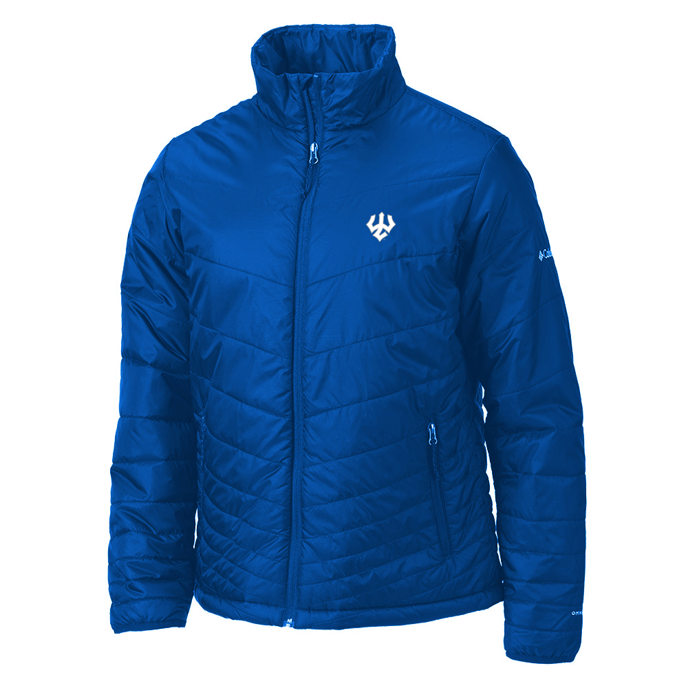 Image For Columbia Mighty Lite Windbreaker, Royal