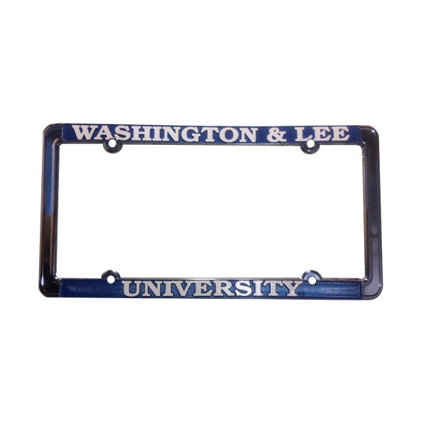 "Cover Image For ""Washington and Lee"" License Plate Frame"
