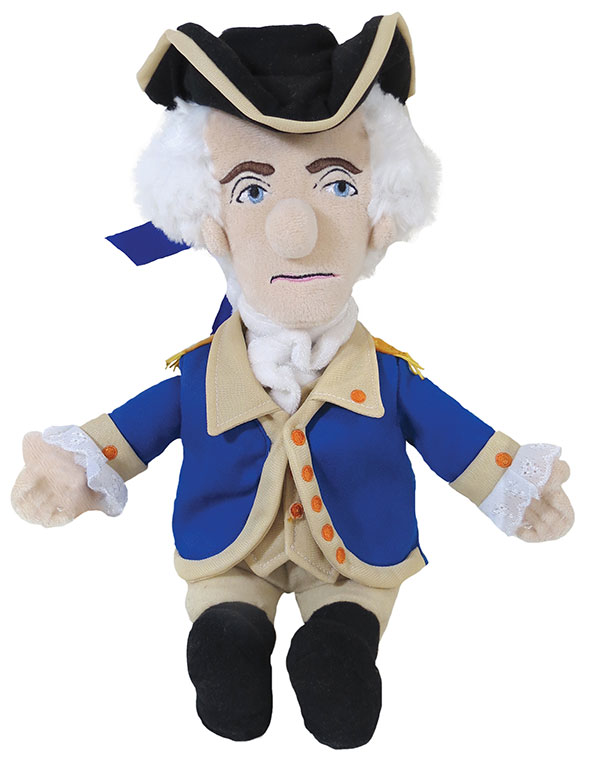 Image For Plush George Washington