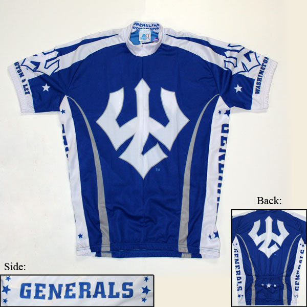 Image For Adrenaline Cycling Jersey with Trident