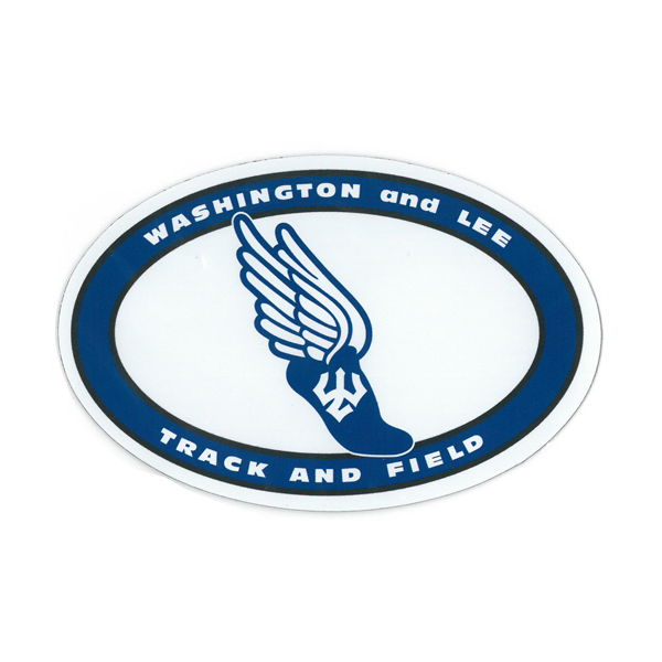 Image For Track and Field Oval Magnet
