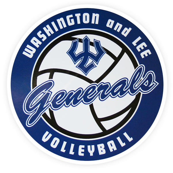 Cover Image For Generals Volleyball Auto Magnet