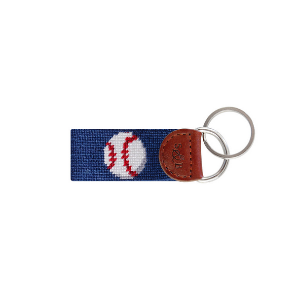 Image For Smathers & Branson Baseball Key Fob