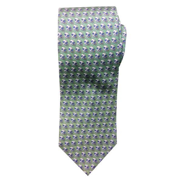 Image For Vineyard Vines Football Tie, Light Green