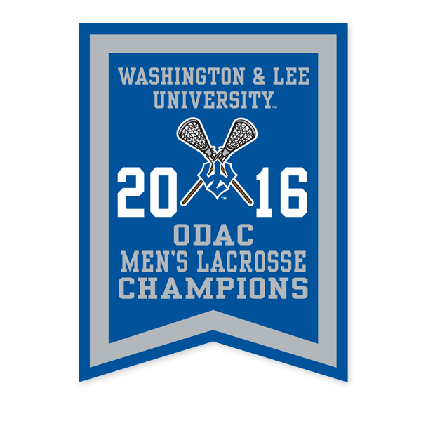 Image For 2016 ODAC Men's Lacrosse Banner