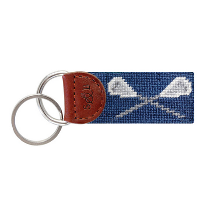 Image For Smathers & Branson Lacrosse Key Fob